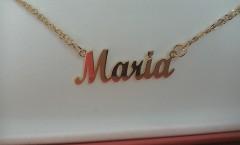 Collana personalizzata con nome Maria